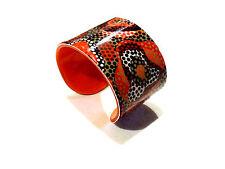 Bijou fantaisie bracelet  manchette lucite multicolore bangle