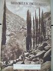 Valley Of El Leja Palestine/St Mihiel WWI 10-3-1918 Mid-Week Pictorial magazine
