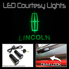 Lumenz CL3 Green LED Courtesy Logo Lights Ghost Shadow GOBO for Lincoln 100622
