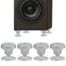 4 Pcs HiFi Speaker Isolation Spikes AMP DAC CD Feet Cones Stand Base Shockproof