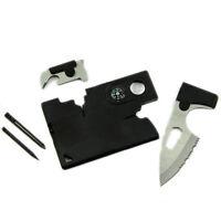 10 in 1 Multi Purpose Taschen-Kreditkarte im Freien kampierende Werkzeug- DO00