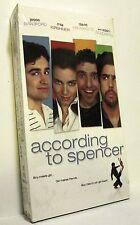ACCORDING TO SPENCER (VHS, 2004) Jesse Bradford Mia Kirshner BRAND NEW SEALED