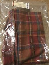 Longaberger Toboso Plaid Large Potluck Basket Liner #23308268 - New
