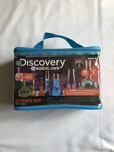 Kids Discovery MINDBLOWN Science Kit Test Tubes Toy, New
