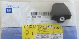 2006-2010 Hummer H3 Front or Rear Door or Rear Lift Gate Black Handle END CAP