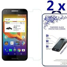 2-Pack For Alcatel A30 Fierce Tempered Glass Screen Protector