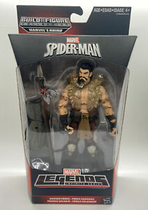 "Marvel Legends KRAVEN THE HUNTER Figure 6"" SPIDERMAN SAVAGE FORCE BUILD RHINO"