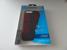 Speck Candyshell Grip For iPhone 8/7 Plus iPhone 6/6s Plus Charcoal Grey/Red New