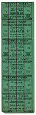 (es) B ferrocarril británico del norte: billete combinado ferrocarril & Vapor 1/11 1/2 D