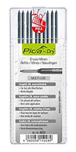 Pica Dry Pen/Pencil Graphite Refill Pack 4030 (pack of 10)