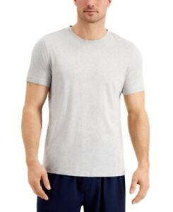 Club Room Men's Cotton Pajama Shirt, 2XL XXL gray
