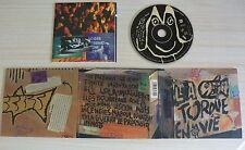 CD ALBUM DIGIPACK EN VIE - LA TORDUE 17 TITRES 2001