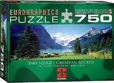 Eurographics Lake Louise Canadian Rockies 750 Piece Puzzle