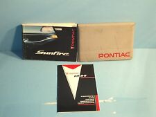 96 1996 Pontiac Sunfire owners manual