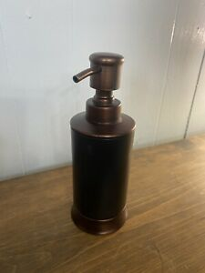 Allen & Roth Metal Reusable Hand Soap Pump Brushed Chrome