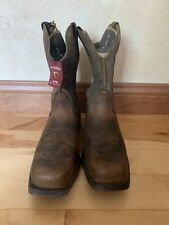 Ariat Western Boots Brown Size 9.5 EE (Wide)