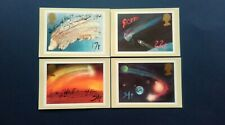 1986 APPEARANCE OF HALLEY'S COMET STAMPS  P.H.Q CARDS WITH LONDON S.E.10 F.D.I.