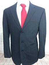 Wilke Rodriguez Black Striped Blazer 41 R $225
