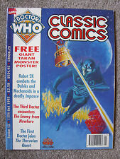 'Doctor Who - Classic Comics' Issue 12 - TV Action/TV Comic Reprints - Marvel