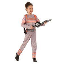 Boys Girls Kids Ghostbuster Official Halloween Fancy Dress 80s Costume Age 3-10