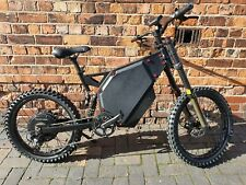 Stealth Bomber Electric Bike 5000w 72v 48ah Samsung + Extras.