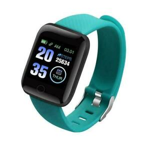 Smart Watch Bluetooth Heart Rate Monitor Blood Pressure Sport Fitness Tracker