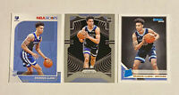 2019-20 BRANDON CLARKE Prizm, Hoops, Rated Rookie (3 Card RC Lot) Grizzlies
