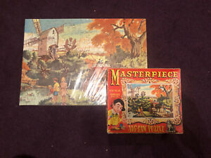 Vintage - 'Masterpiece Jig-Saw Puzzle' - Over 165 Pieces - Complete