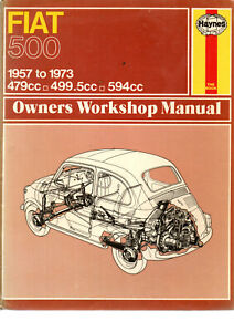 Haynes Classic Fiat 500 Sport D F L Autobianchi Giardiniera Panoramica 1957 1973