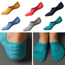 2Paire Homme Chaussettes Silicone Antidérapant Invisible Bateau Socquettes Sport
