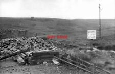 PHOTO  WOODHEAD TUNNEL TOP OF SHAFT ON MOORS 1953 GCR SHEFFIELD ETC - MANCHESTER