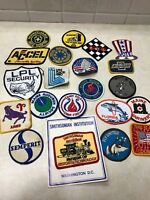 Lot of 21 Vintage Sew on Patches