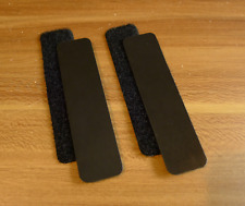 3M Black reflective patch for tactical gear Molle loops. 1 x 4 inches. 2 pcs.