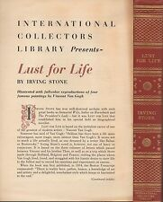 (Irving Stone) Lust for life  Illustrated by V.V. Gogh  International collectors