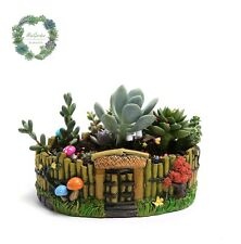 Clearance Sale!!!Creative Garden Look Pot/Plant Platter
