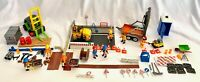 Playmobil Construction Lot sets 4048, 4049, 3003, 3004, 3126, 6139 & 6144 Spool