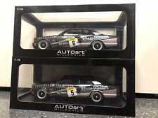 AUTOart Mercedes-Benz 500 SEC AMG 1989 SPA #5 & #6 1/18 *BRAND NEW SUPER RARE*