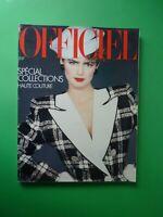 L'Officiel Paris Magazine 690 Mars 1983 March Collections S/S Haute Couture