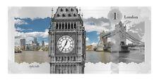 2017 Cook Islands $1 London Skyline Foil Note 5 g Proof Silver In OGP SKU46727