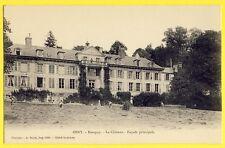 cpa OSNY (Val d'Oise) CHÂTEAU de BUSAGNY Paysans Faucheurs Collège Lafarge