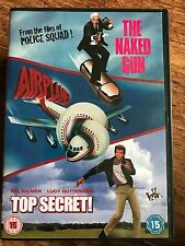 THE NAKED GUN / AIRPLANE / TOP SECRET ~ Zucker Comedy Classic Triple | UK DVD