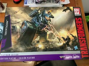 TRANSFORMERS PLATINUM EDITION G1 HASBRO - TRYPTICON MISB