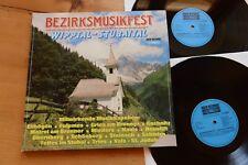Blasmusik : Bezirksmusikfest Wipptal Stubaital 2 LP Koch E 130 007 gatefold