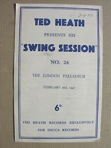 1947 TED HEATH SWING SESSION Kenny Baker Johnny Green Radio Revellers Parnell 24