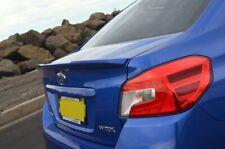 Subaru WRX STI Trunk Deck Lip Spoiler OE Type Sedan Imprezer Fiber 2015+