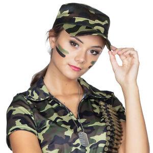 Rubies Army Legionärs Cap Military Camouflage Accessoire Mütze Karneval Fasching