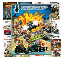 """Mini Posters [13 posters 8""""x11""""/A4] Action Car Drive Trash Movie Vintage MP432"""