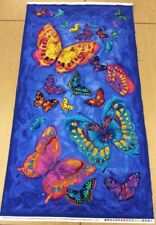 Timeless Treasures - Monterey By Chong-A Hwang - Butterfly Panel - 100% Cotton