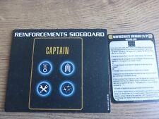 Star Trek Attack Wing OP Reinforcement Sideboard + ref card