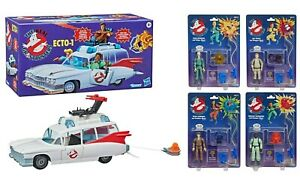 Hasbro The Real Ghostbusters Kenner Classics 13 cm 2020 4 Blister + ECTO-1